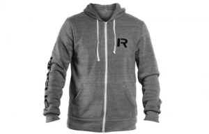 Rogue Stencil Hoodie Gray Front