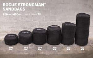 Rogue Strongman Sandbags different weights