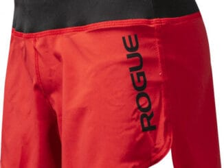 Rogue Women's Runner Shorts Red Side