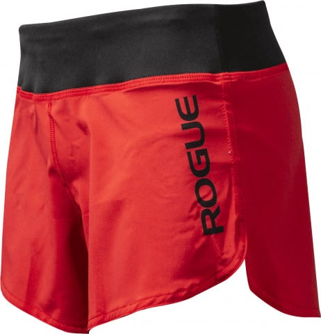 Rogue Women's Runner Shorts Red Side