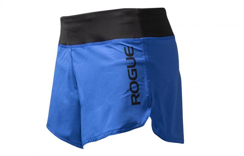 Rogue Women's Runner Shorts Royal Blue Side