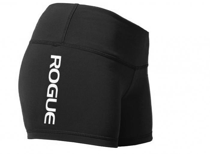 WOD Gear Clothing Wide Band Booty Shorts black side
