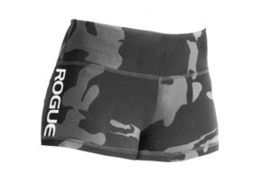 WOD Gear Clothing Wide Band Booty Shorts camo