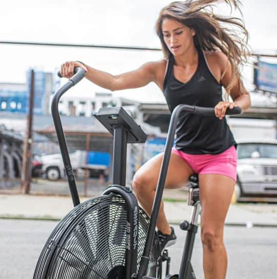 Assault Fitness AssaultBike Classic with a model