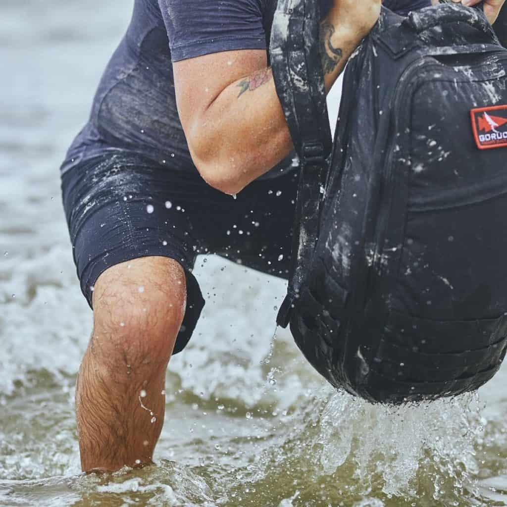 GORUCK Challenge Shorts Black squats