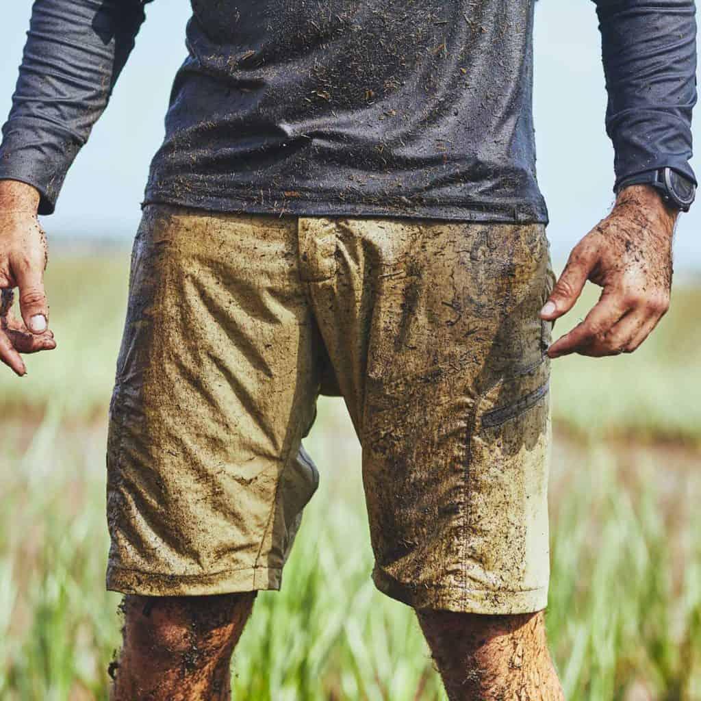 GORUCK Challenge Shorts Coyote muddy
