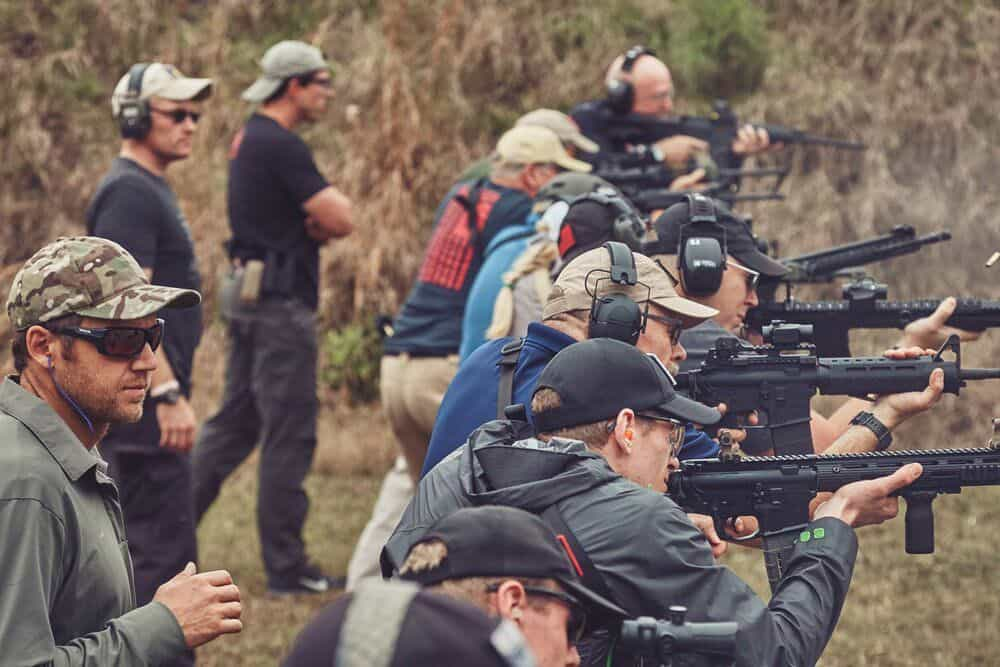 GORUCK Events Tactical Rifle Training