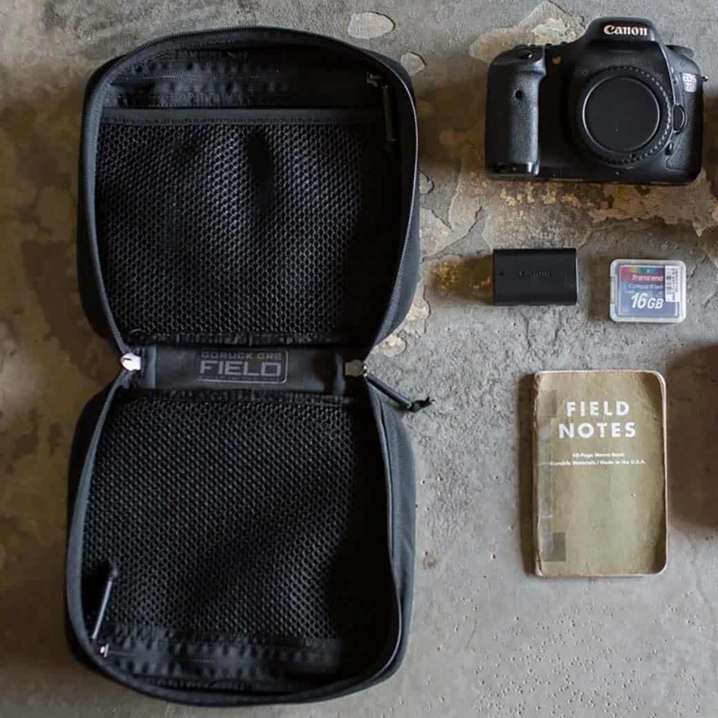 GORUCK GR2 Field Pocket Black inside