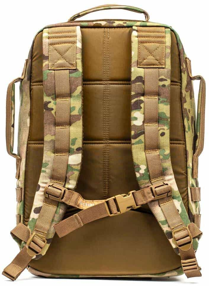 GORUCK Rucker 3.0 multicam back view