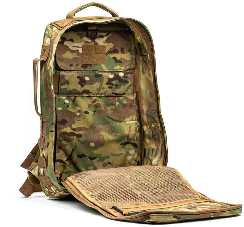 GORUCK Rucker 3.0 multicam inside quarter view