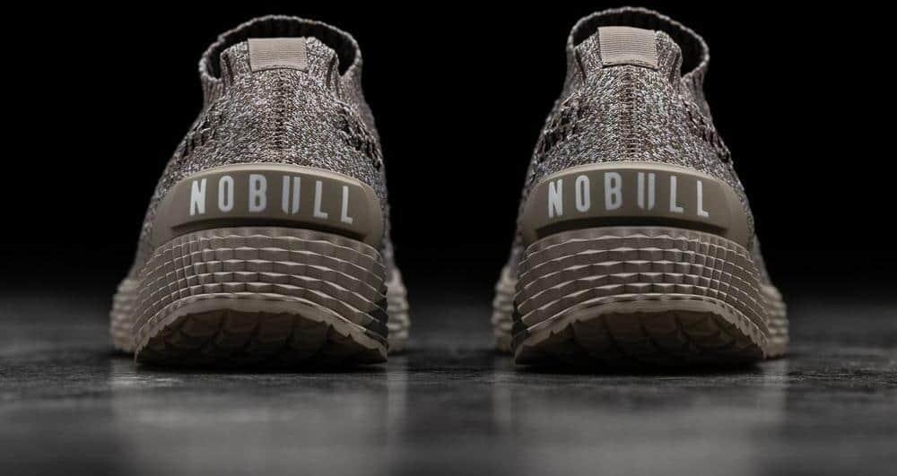 NOBULL Knit Runner Clay pair heel
