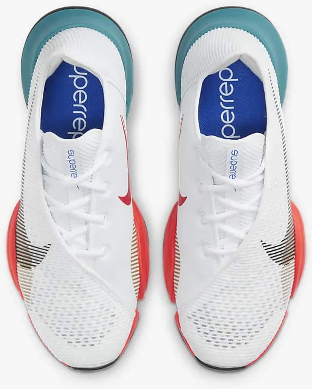 Nike Air Zoom SuperRep 2 top view