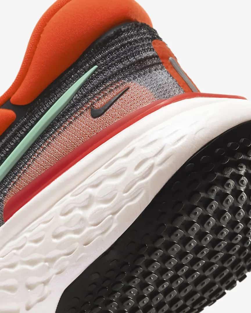 Nike ZoomX Invincible Run Flyknit Men heel close up