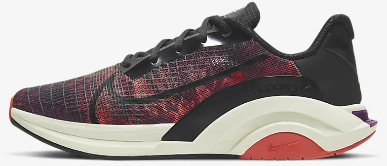 Nike ZoomX SuperRep Surge side view left