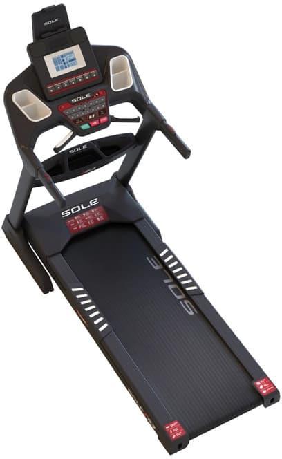 Sole F63 Treadmill top view