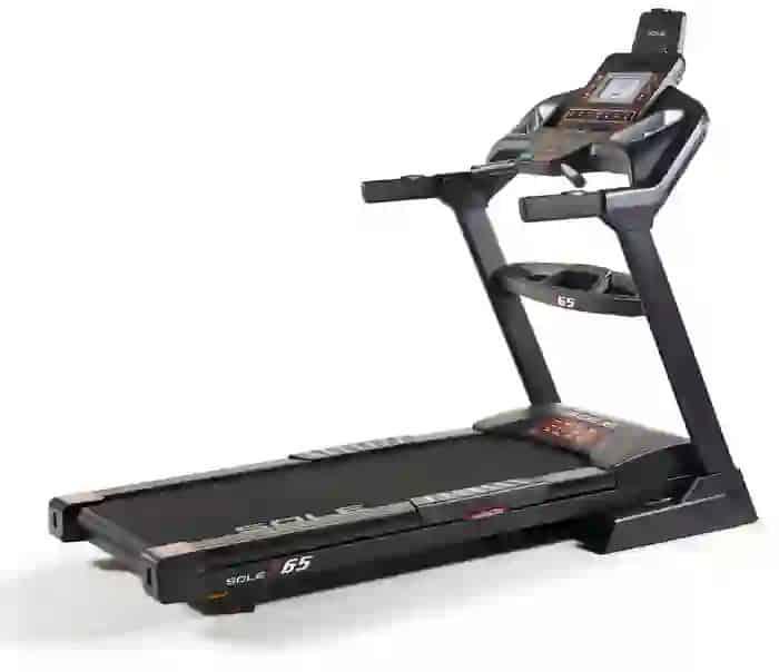 Sole F65 Treadmill full view