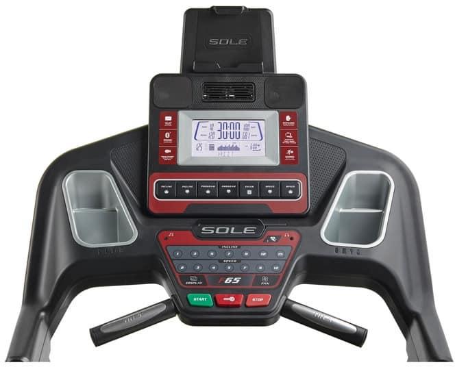 Sole F65 Treadmill monitor