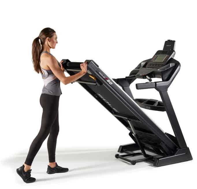 Sole F80 Treadmill foldable