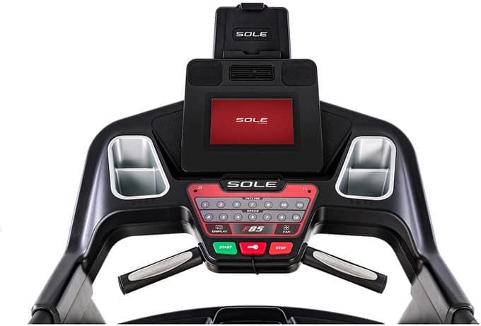 Sole F85 Treadmill console full