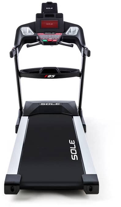 Sole F85 Treadmill front view