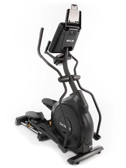 Sole Fitness E25 Elliptical front right