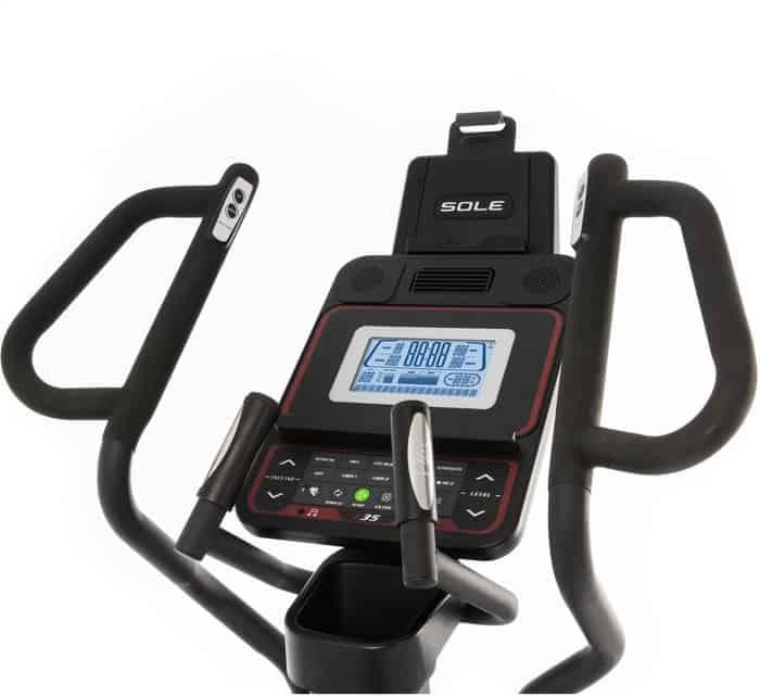 Sole Fitness E35 Elliptical console full