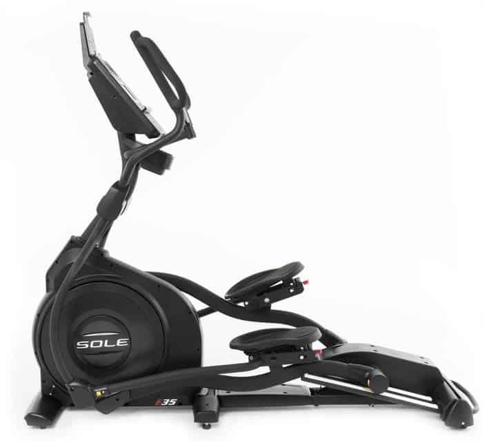 Sole Fitness E35 Elliptical left side