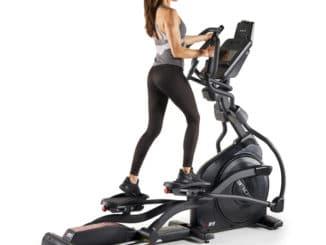 Sole Fitness E95 Elliptical back model