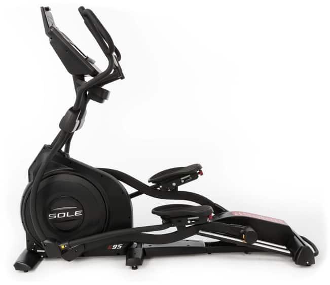 Sole Fitness E95 Elliptical left side