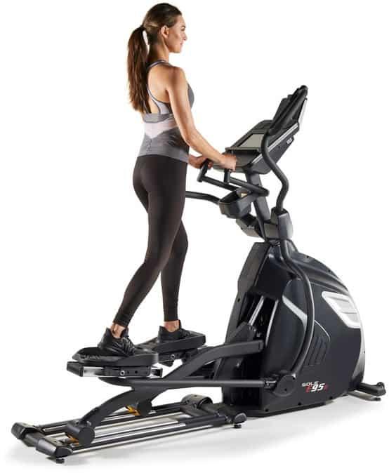 Sole Fitness E95S Elliptical back model