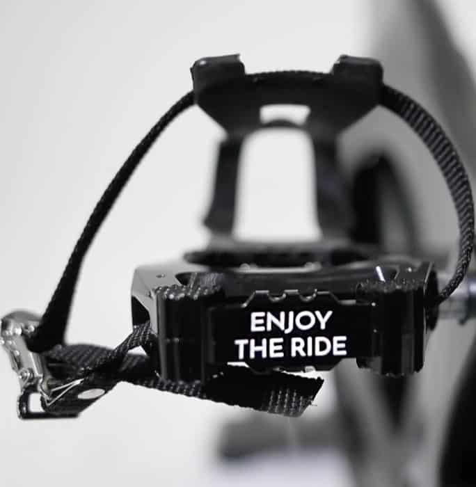 Sole Fitness Johnny G Indoor Bike pedal details