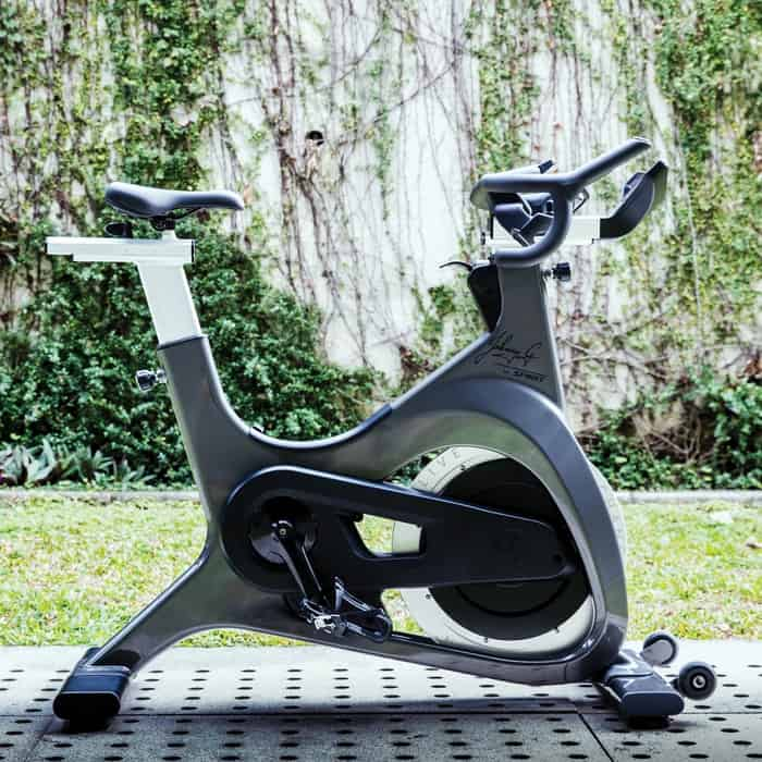 Sole Fitness Johnny G Indoor Bike side view