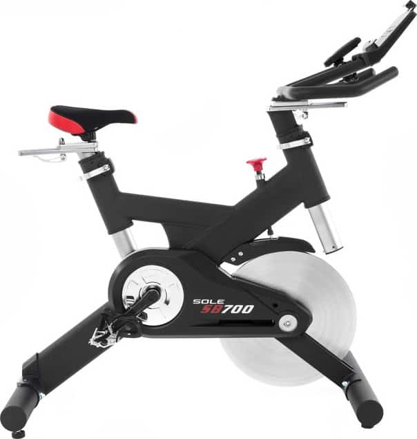 Sole Fitness SB700 Bike right side both down