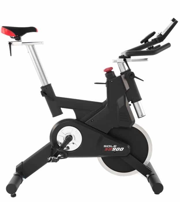 Sole Fitness SB900 Bike right side seat high