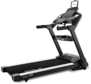 Sole S77 Treadmill full view