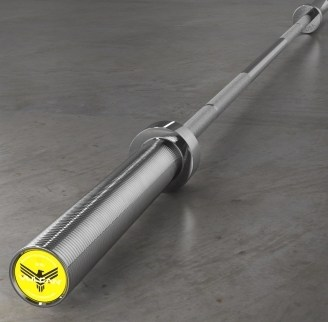Vulcan 15 kg V4.0 Elite Bearing 25 mm Olympic Barbell full view