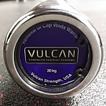 Vulcan Mens Absolute Stainless Steel Olympic Barbell logo