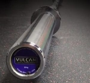 Vulcan Mens Professional Olympic Barbell front view