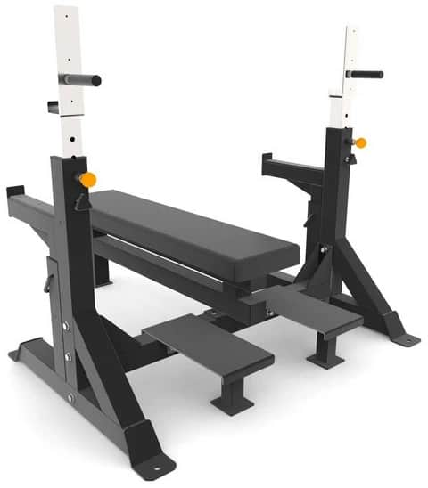 Force USA Commercial Heavy Duty IPF Spec Olympic Bench Press back
