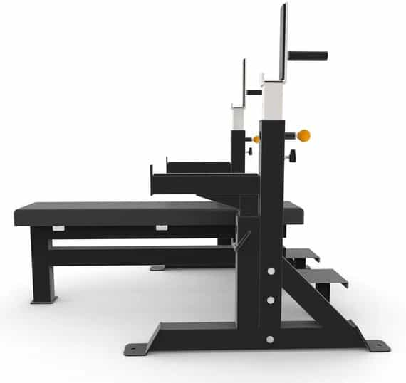 Force USA Commercial Heavy Duty IPF Spec Olympic Bench Press side