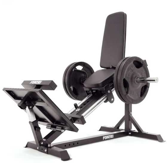 Force USA Compact Leg Press front left