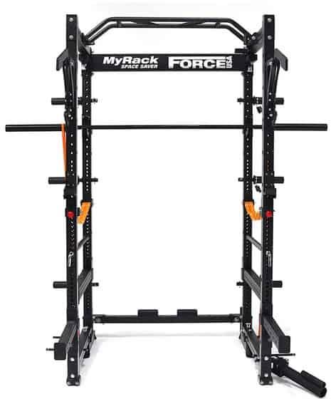 Force USA MyRack Folding Power Rack with accessories