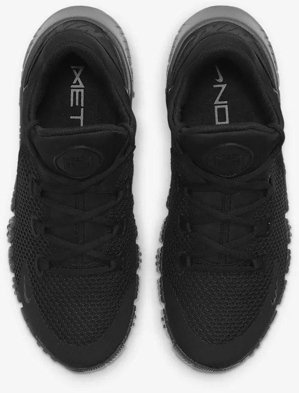 Nike Free Metcon 4 Black Volt Black pair top view