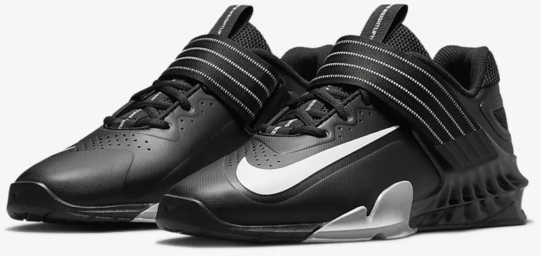 Nike Savaleos Black Gray quarter view left