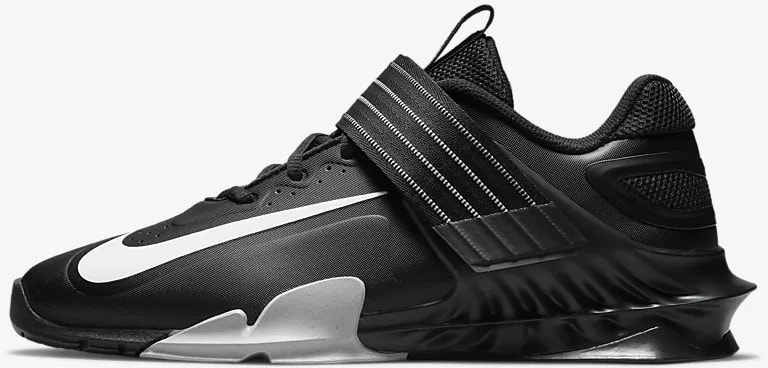 Nike Savaleos Black Gray side view left