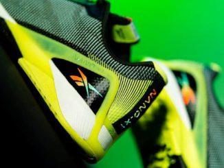 Reebok Nano X1 Studio Lights Pack heel close up
