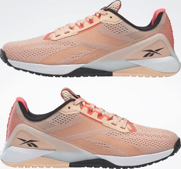 Reebok Nano X1 Women Aura Orange pair