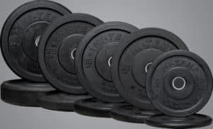 Rep Fitness Hi-Temp Bumper Plates different sizes