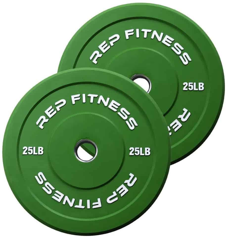Rep Fitness Rep Color Bumper Plates 25LB