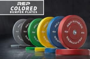 Rep Fitness Rep Color Bumper Plates main
